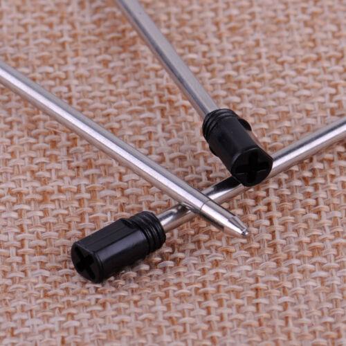 10X Kugelschreibermine Kugelschreiber 7CM Schwarz Ersatzminen Für 14cm Stift wo