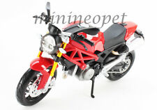 MAISTO 31189 2011 11 DUCATI MONSTER 696 BIKE 1/12 RED