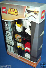 LEGO 8020325 ~STAR WARS Stormtrooper Watch with minifigure Sold Out ~ NEW