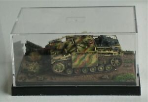 Plastic-Soldier-1-100-German-StuG-III-Assault-Gun-WWII-1944-Pro-Built-Model-Kit