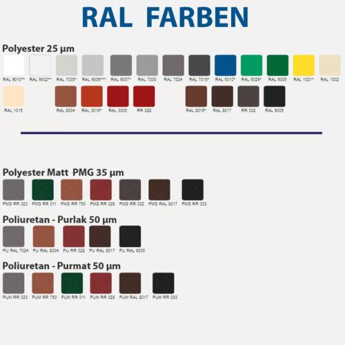 m2 1 Wahl !!!! Dachplatten Profilbleche Dachpaneele mit Stehfalz DP-510 Preis