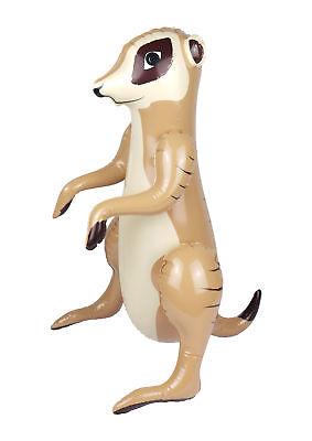59 cm-Animal Fancy Dress Prop Décoration Safari Meerkat Gonflable Suricates