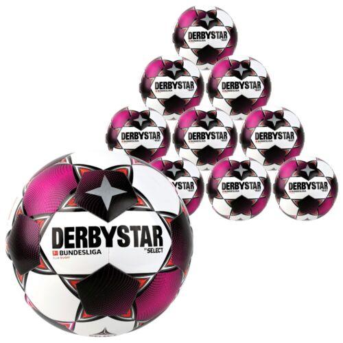 10er Set Derbystar 10x Bundesliga Club S-Light Größe 4 290g Saison 2020//21 NEU