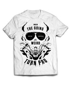 219b92c0347 Image is loading Hunter-S-Thompson-T-Shirt-The-Weird-Turn-