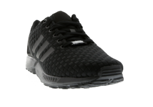 competitive price 0d871 3b20e Details about Adidas ZX Flux Woven Trainers Shoes Triple Black 100%  Authentic