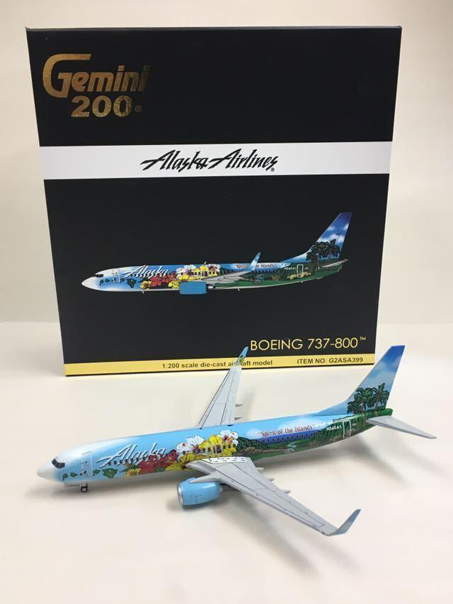 Gemini 200 Alaska Airlines Boeing 737-800 1:200 G2ASA399 N560AS