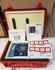 Philips Heartstart Fr2 Aed Defibrillator M3861a Heated Case Amp Battery