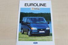160064) Ford Transit - Euroline - Prospekt 08/1994