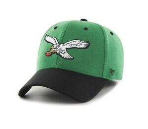 super popular 2f190 fd644 Image is loading Philadelphia-Eagles-039-47-Brand-Kickoff-Two-Tone-