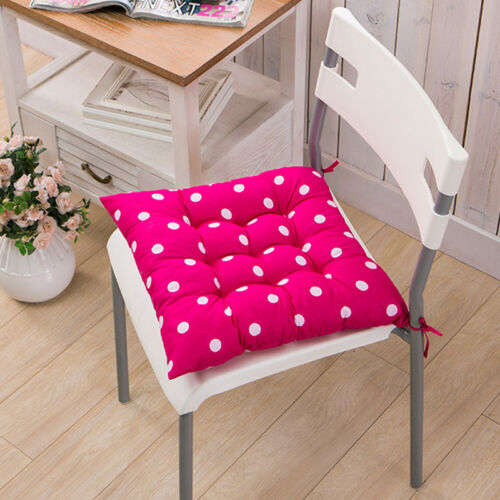 Tie on Chair Cushion Pads Seat Patio Indoor Outdoor Garden Dining Furniture Yard
