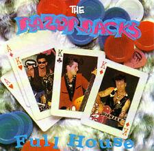 THE RAZORBACKS - FULL HOUSE! Rare Neo-Rockabilly CD
