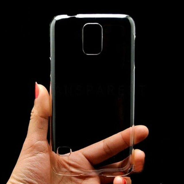 Clear Ultra Thin Crystal Hard Back Skin Case Cover For Samsung Galaxy S5 i9600