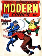 MODERN COMICS GOLDEN AGE COLLECTION PDF FORMAT ON CD