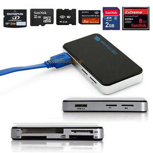 USB3-0-All-in-1-Compact-Flash-Multi-Memory-Card-Reader-Adapter-CF-MicroSD-MS-XD