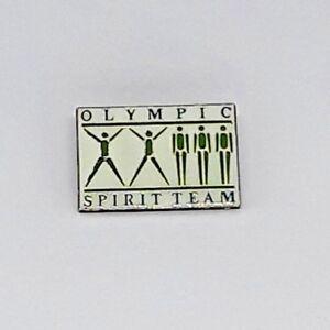 1984-LOS-ANGELES-Olympic-Games-Lapel-Hat-PIN-Olympic-Spirit-Team