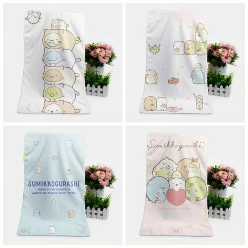 Sumikko gurashi Customized Bath Towels Soft Face Towel new