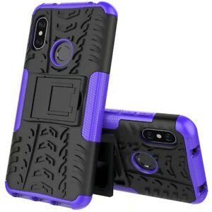 For-Xiaomi-Mi-A2-Mi-6X-Hybrid-Case-2-Pieces-Outdoor-Purple-Case-Cover-New