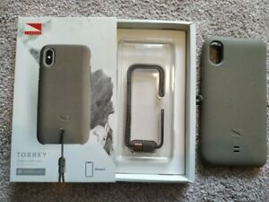 Genuine-Apple-Recommended-Lander-Torrey-Phone-Beige-Case-For-iPhone-X-RRP-35
