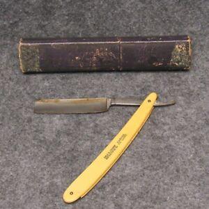 "Shumate St. Louis 6"" Straight Razor Barber Deluxe Ivory ..."