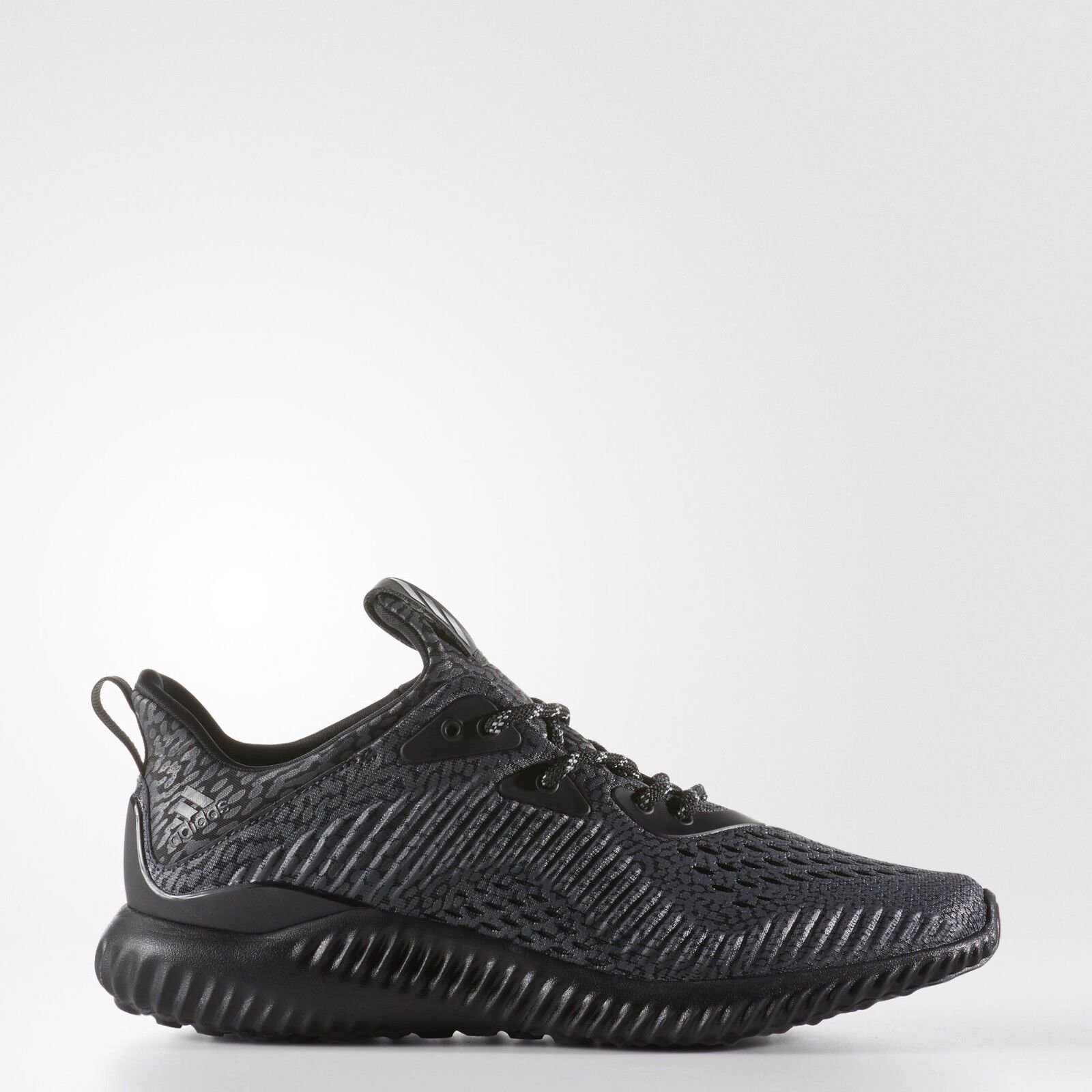 Womens Adidas Alphabounce Core Black Solid Grey Running White BW1133