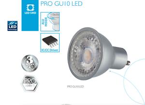 60° A Leuchtmittel Licht warm LED Spot Einbaustrahler GU10 PRO 7 Watt 45W