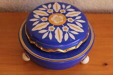 Art Deco Porzellan Dose Schoenau Swaine&Co Gold Malerei 30er Jahre