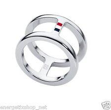 Tommy Hilfiger 2700486 E Damen Ring  CLASSIC SIGNATURE 18,5 mm Größe 58