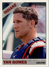 2015 Topps Heritage #134 Yan Gomes Cleveland Indians