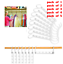 Magic-Space-Saving-Hanger-Clothes-Rack-With-Hook-Wardrobe-Closet-Organizer thumbnail 12
