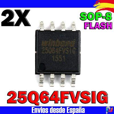 W25q64-25q64 W 25 G 64 FVSSIG W 25 Q 64 FVSIG 25 Q 64 FVSIG 64m-bit Serial Flash Memory