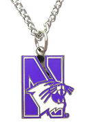Northwestern University Wildcats NCAA Logo Necklace
