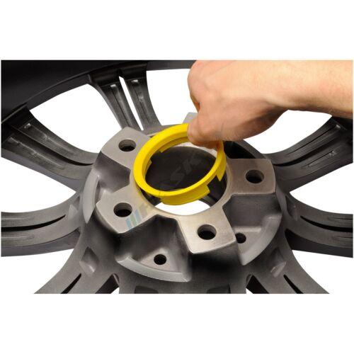 4 llantas anillas de centrado 73,1-66,6 seat//Mazda//Opel//honda anillos de llantas de aluminio
