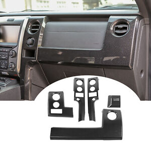 Center Console Dashboard Cover Trim Kits for Ford Raptor F150 09-14 Accessories