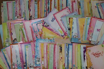 Sonderblätter *frisch vom Block* 50 Diddl Relief Blätter Sammlung