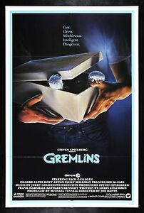 Gremlins Cinemasterpieces Vintage Original Movie Poster 1984 Ebay