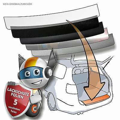 Lackschutzfolie Ladekantenschutz Folie passend für VW Golf 6 PLUS (ab BJ 2008)