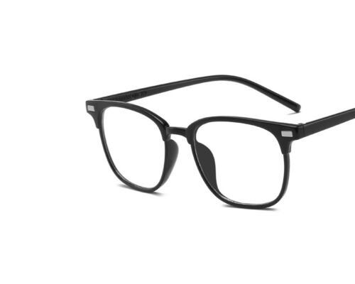 Fashion Cool Unisexe Clair Lentille Nerd Geek Lunettes Eyewear Pour Hommes Femme Vintage