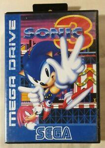 Sonic-the-Hedgehog-3-SEGA-MEGA-DRIVE-1994-Platformer-No-Manual