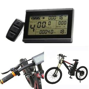 fuer-EBike-Fahrrad-Display-KT-LCD3-Tachoanzeige-Control-Panel-24V-36V-48V-60V-72V