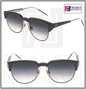 c71ae985c1 Image is loading CHRISTIAN-DIOR-SPECTRAL-Rose-Black-Gradient-Aviator- Sunglasses-