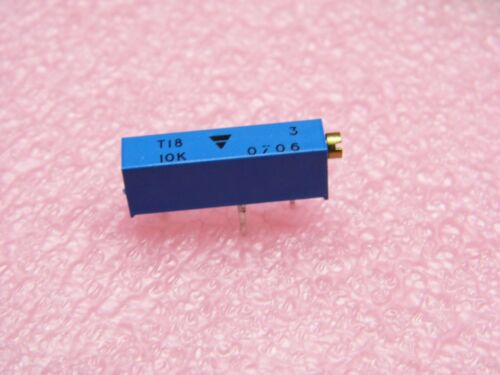 Résistance ajustable cermet potentiomètre Trimmer type T18 de 1k 1kohms Lot x10