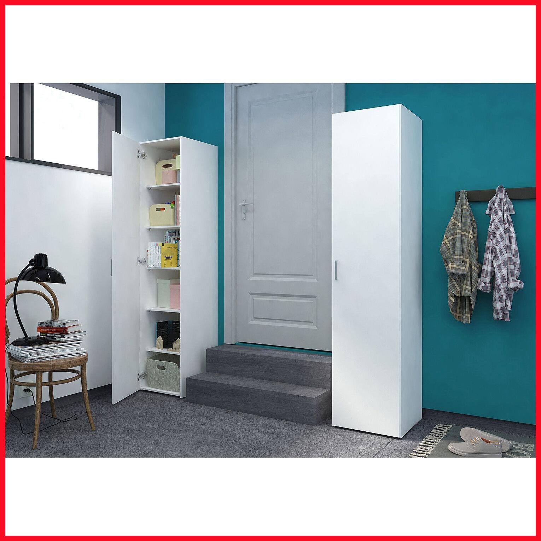 [No Tax ] Tvilum Single Door White Storage Cabinet