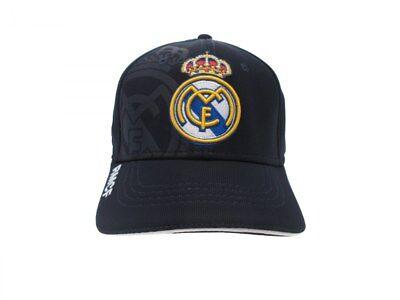 Cappello Real Madrid Ufficiale Blancos Originale Visiera 58 Cm Berretto Baseball