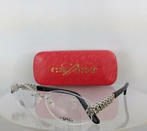 afacc5337330 Brand New Authentic Caviar Eyeglasses M 2347 C. 35 56mm Austrian ...