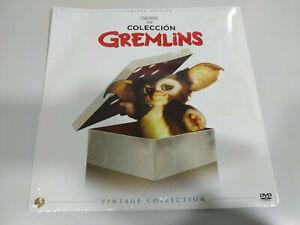 Gremlins Coleccion 1 + 2 Steven Spielberg Limited Edition Vintage - DVD Nuevo