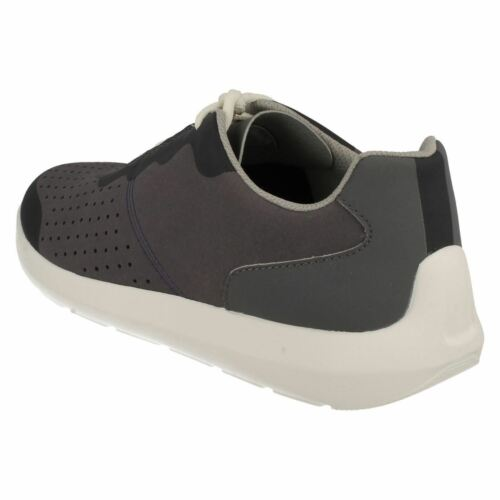 Mens Clarks Cloud Steppers Torset Vibe Casual Lace Up Trainer Shoes