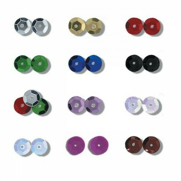 Trimits 8mm Shiny Craft Cup Sequins Pack Of 160