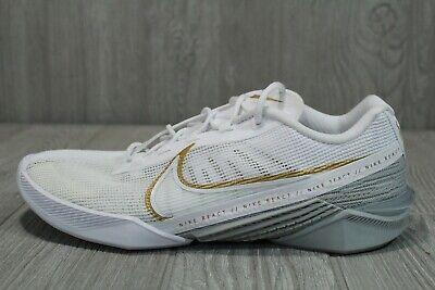 62 Rare New Womens Nike React Metcon Turbo White Shoes CT1249 100 Size 10   eBay