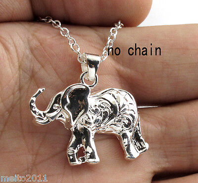 Women men Silver plated Charms Lovely Pendant For Necklace Xmas Gift New