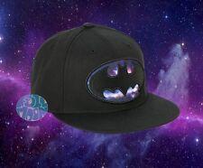 New DC Comics Batman Galaxy Logo Mens Snapback Cap Hat